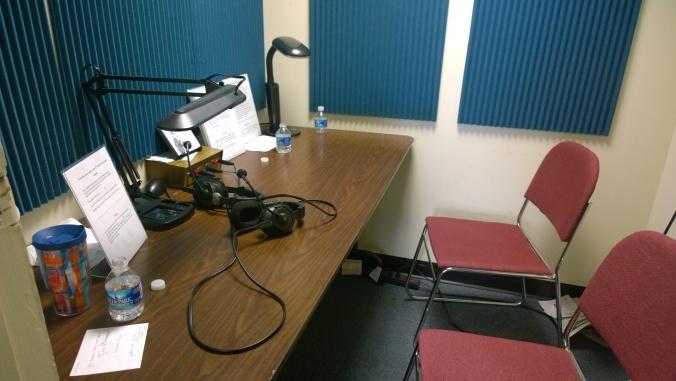 Recording Room in MARRS studio.