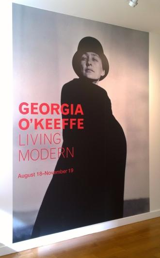 Georgia O'Keeffe exhibit at Reynolda Museum & Gardens, Winston-Salem, NC