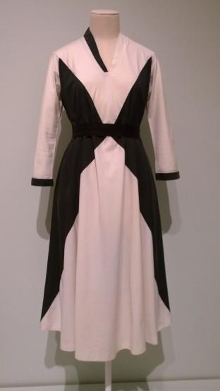 One of Georgia O'Keeffe's iconic dresses!