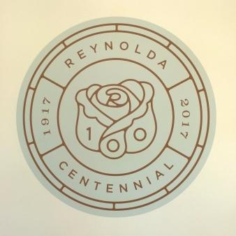2017 Centennial Logo for Reynolda